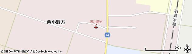 山形県東田川郡庄内町西小野方西農79周辺の地図