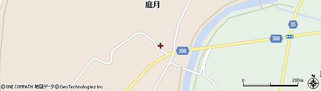 山形県最上郡鮭川村庭月3438周辺の地図