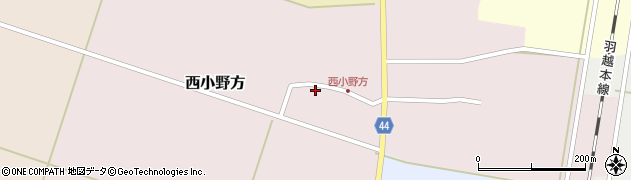 山形県東田川郡庄内町西小野方西農83周辺の地図