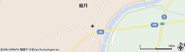 山形県最上郡鮭川村庭月680周辺の地図