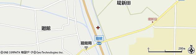 山形県東田川郡庄内町廻館盛利新田28周辺の地図