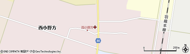 山形県東田川郡庄内町西小野方西農71周辺の地図
