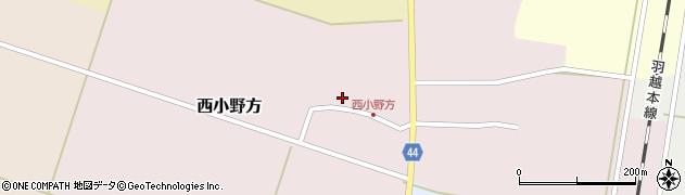 山形県東田川郡庄内町西小野方西農84周辺の地図
