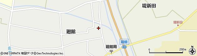 山形県東田川郡庄内町廻館館舎39周辺の地図