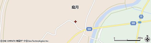 山形県最上郡鮭川村庭月3422周辺の地図