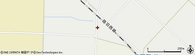 山形県東田川郡庄内町赤渕新田東割周辺の地図