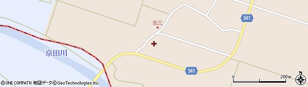 山形県東田川郡庄内町生三上川前7周辺の地図