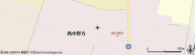 山形県東田川郡庄内町西小野方西農90周辺の地図