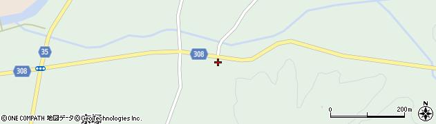 山形県最上郡鮭川村京塚93周辺の地図