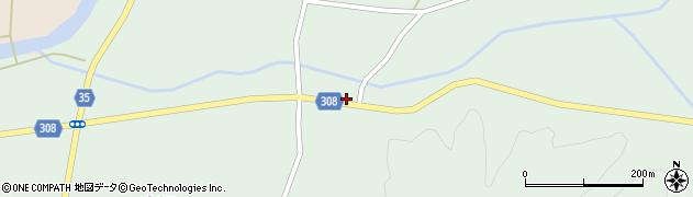 山形県最上郡鮭川村京塚937周辺の地図