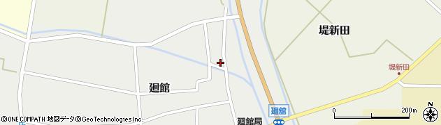 山形県東田川郡庄内町廻館岡崎1周辺の地図