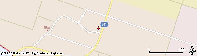 山形県東田川郡庄内町生三奥沼田44周辺の地図