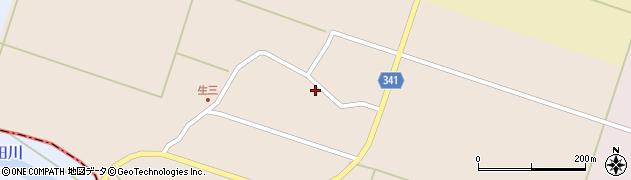 山形県東田川郡庄内町生三奥沼田42周辺の地図