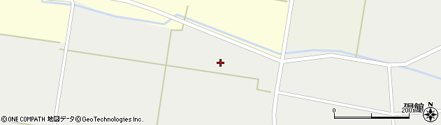 山形県東田川郡庄内町廻館北豊浴周辺の地図
