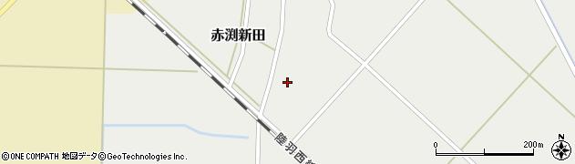 山形県東田川郡庄内町赤渕新田藤原台12周辺の地図