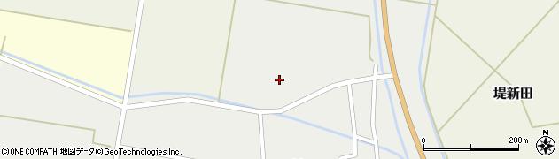 山形県東田川郡庄内町廻館長瀬周辺の地図