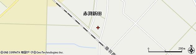 山形県東田川郡庄内町赤渕新田藤原台17周辺の地図