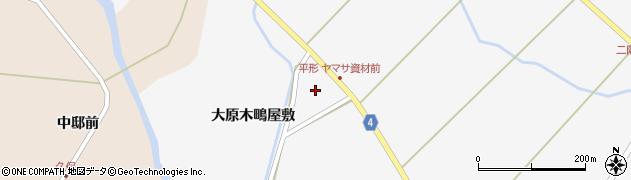 宮城県栗原市金成大原木大巻周辺の地図