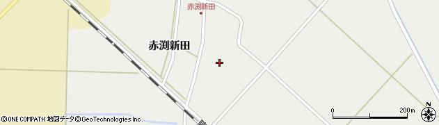 山形県東田川郡庄内町赤渕新田藤原台33周辺の地図