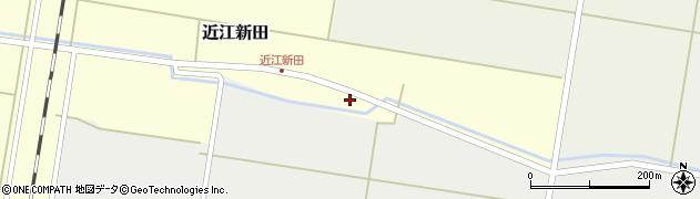 山形県東田川郡庄内町近江新田村下1周辺の地図
