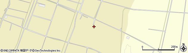 山形県酒田市浜中稲干場周辺の地図