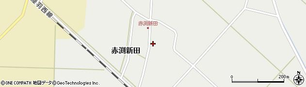 山形県東田川郡庄内町赤渕新田藤原台43-2周辺の地図