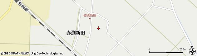 山形県東田川郡庄内町赤渕新田藤原台43周辺の地図