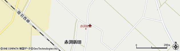 山形県東田川郡庄内町赤渕新田藤原台53周辺の地図