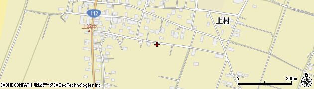 山形県酒田市浜中分散山甲周辺の地図