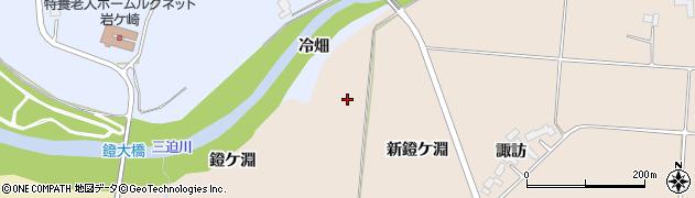 宮城県栗原市栗駒猿飛来新鐙ケ淵周辺の地図