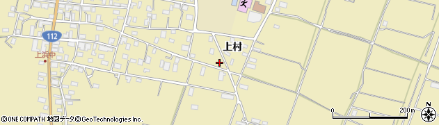 山形県酒田市浜中上村382周辺の地図
