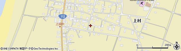 山形県酒田市浜中上村90周辺の地図