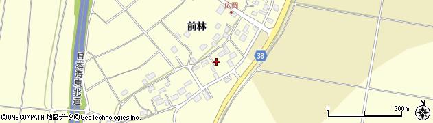 山形県酒田市広岡新田前林488周辺の地図