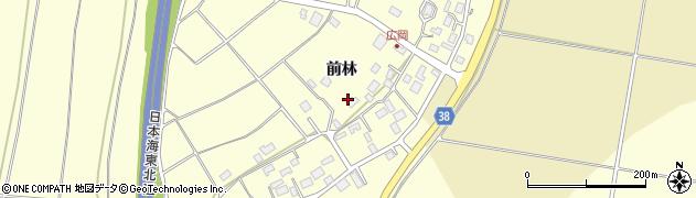 山形県酒田市広岡新田489周辺の地図