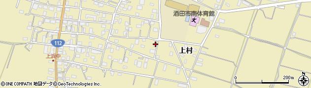 山形県酒田市浜中上村375周辺の地図