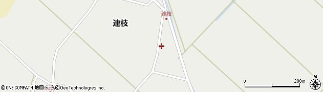 山形県東田川郡庄内町連枝沼端8周辺の地図