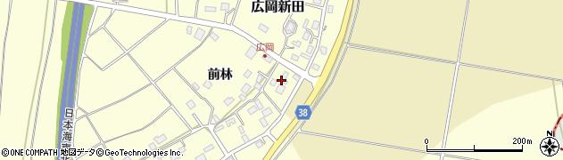 山形県酒田市広岡新田前林475周辺の地図