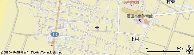 山形県酒田市浜中上村213周辺の地図