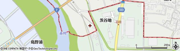 山形県酒田市広野杓子2周辺の地図