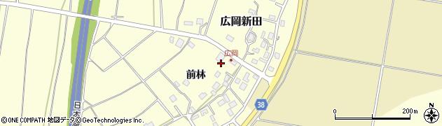 山形県酒田市広岡新田480周辺の地図