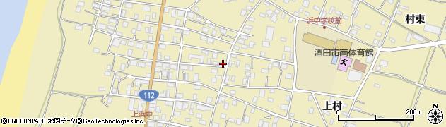 山形県酒田市浜中上村198周辺の地図