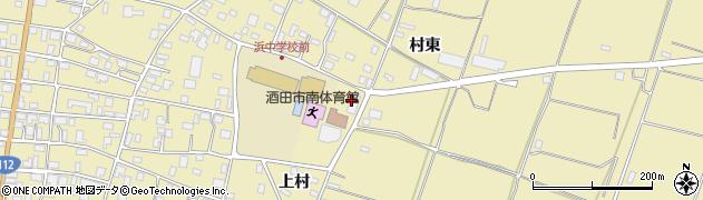 山形県酒田市浜中上村387周辺の地図