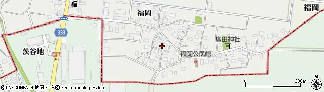 山形県酒田市広野福岡60周辺の地図
