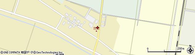 山形県東田川郡庄内町吉岡周辺の地図