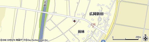 山形県酒田市広岡新田314周辺の地図