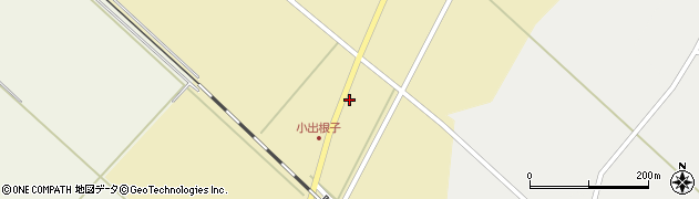 山形県東田川郡庄内町小出新田大谷地4周辺の地図