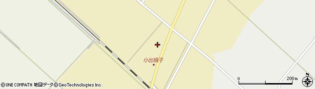 山形県東田川郡庄内町小出新田大谷地周辺の地図
