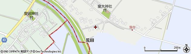 山形県東田川郡庄内町落合落合81周辺の地図