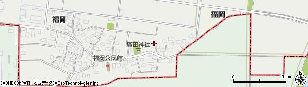 山形県酒田市広野福岡247周辺の地図