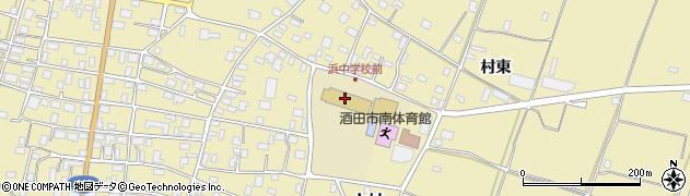 山形県酒田市浜中上村370周辺の地図